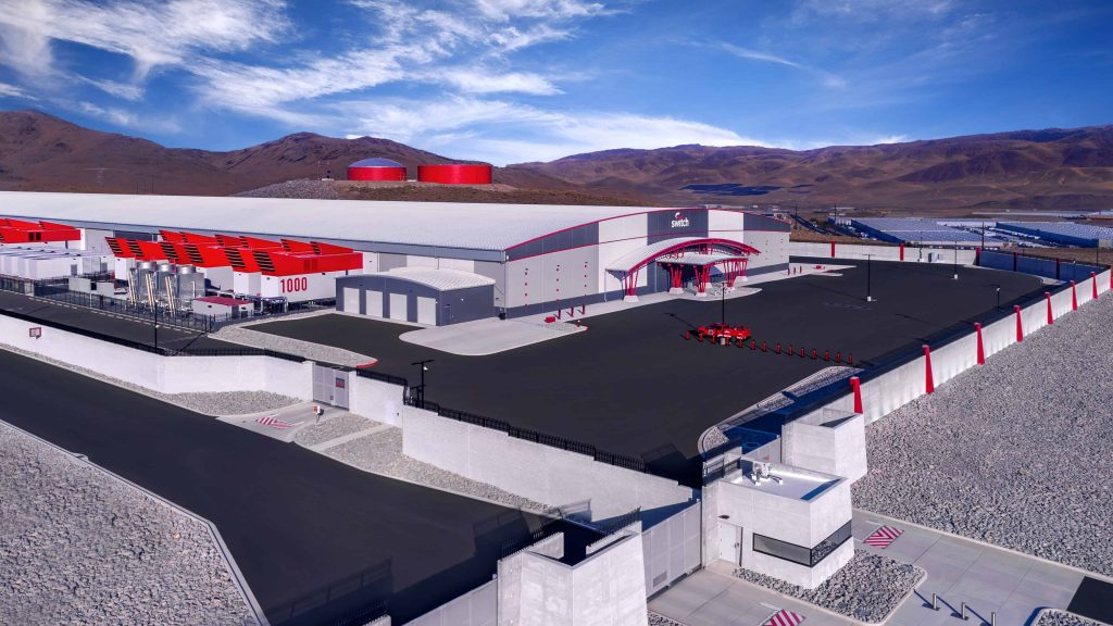 Inside The World's Largest Data Center Switch Citadel Campus