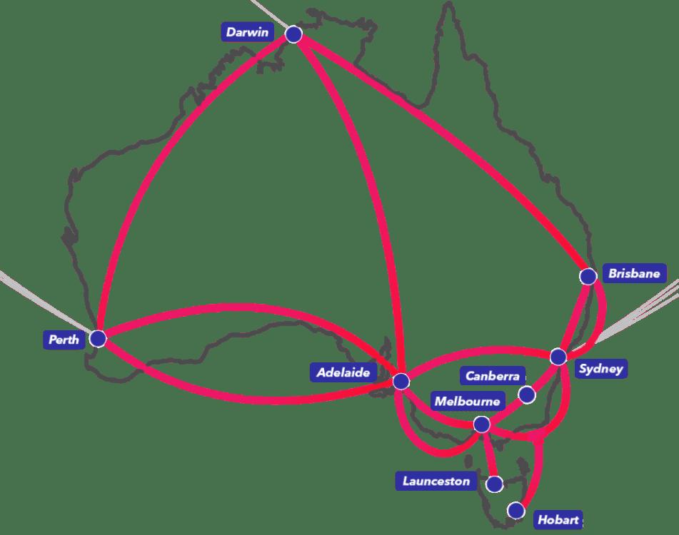 HyperOne Domestic Fiber Network