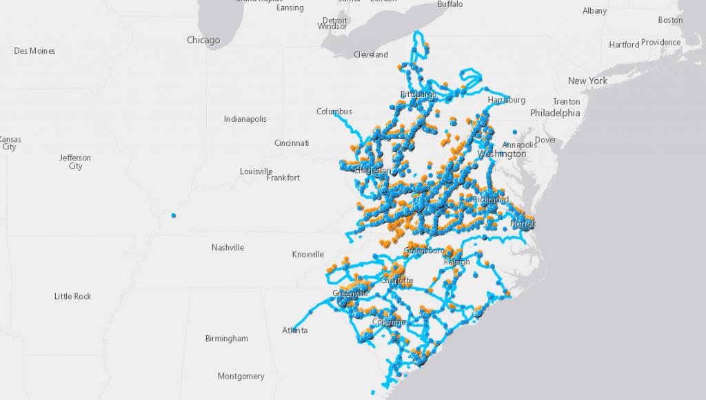 Segra Fiber Network Map