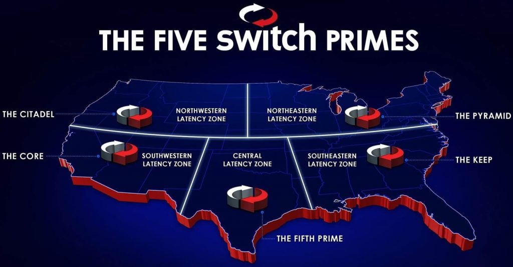 Switch Inc Five Primes Data Center