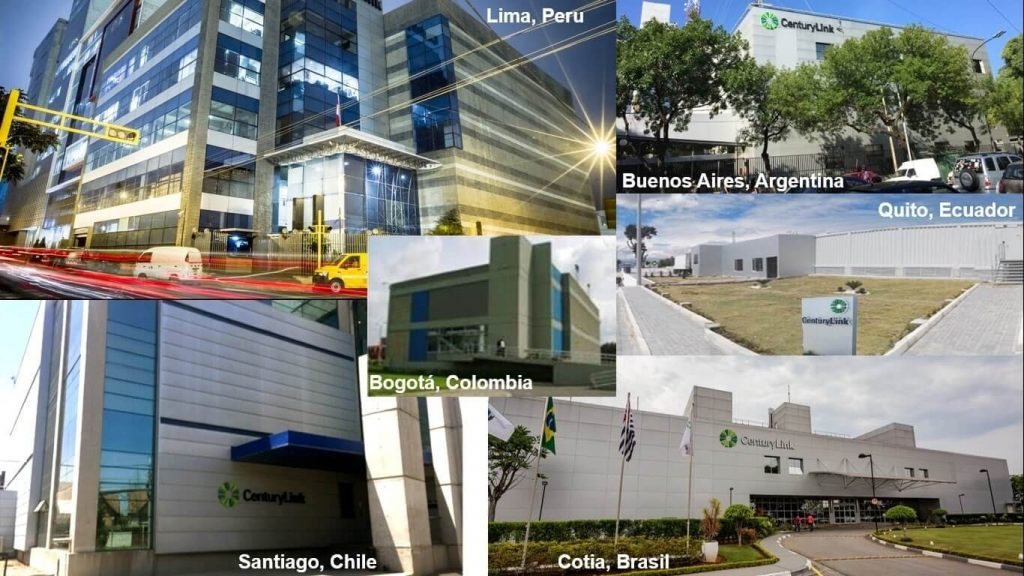 Lumen Technologies Latin American Fiber Network Data Centers