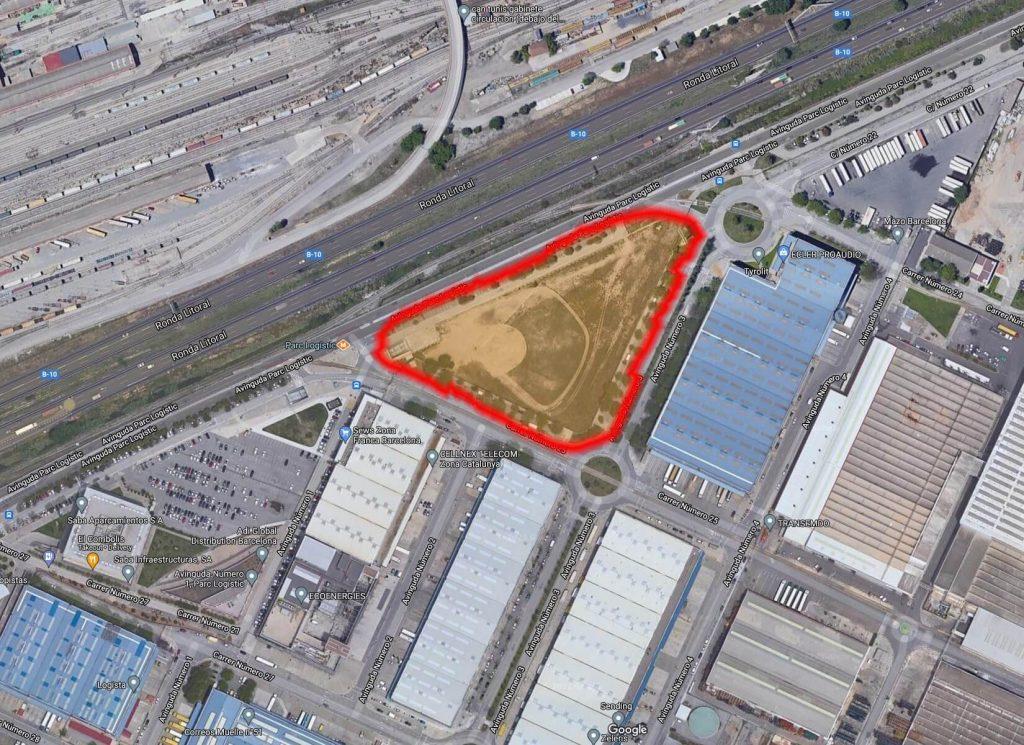Merlin Properties Barcelona Data Center Site Location