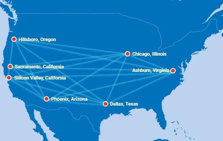 NTT Global Data Centers Americas Locations