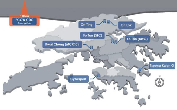 PCCW Solutions Data Centers Hong Kong