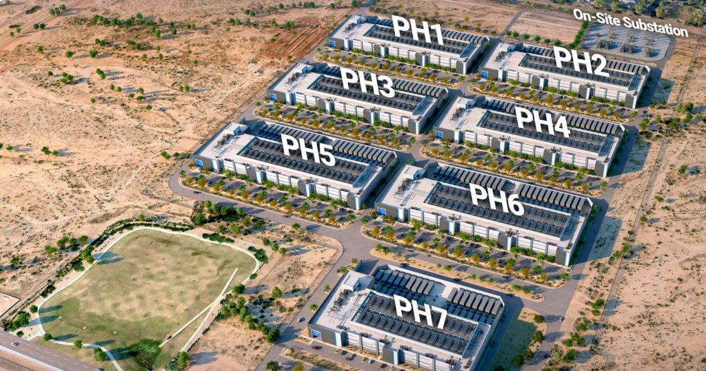 Phoenix Campus NTT Global Data Centers