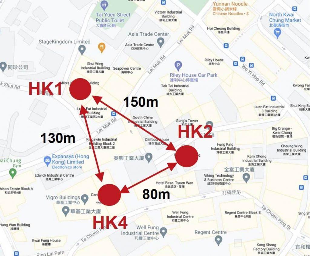 GDS Holdings Hong Kong 4 HK1 HK2 HK4 Data Centers