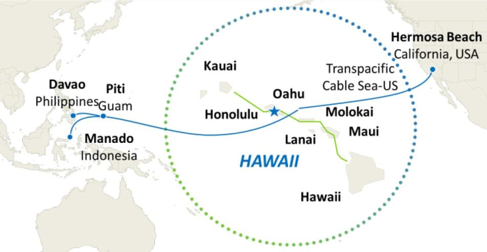 Cincinnati Bell Hawaii Network Map