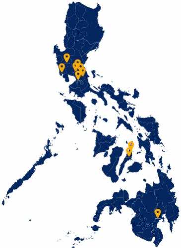 PLDT ePLDT Data Center Map
