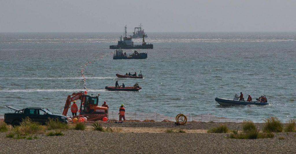 euNetworks Scylla Subsea Cable Deployment