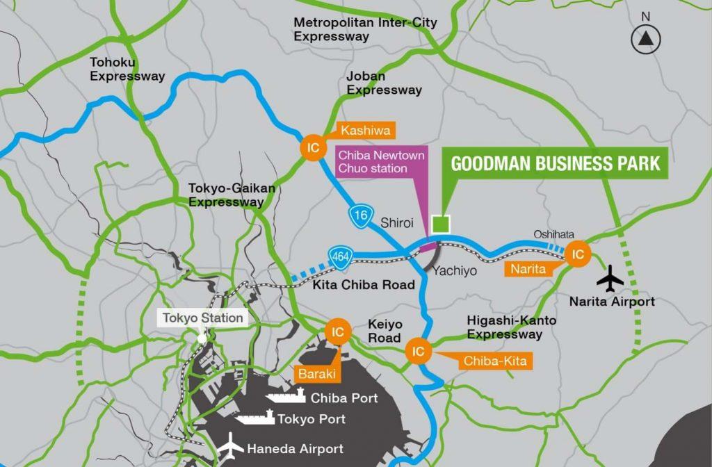 Goodman Business Park Map