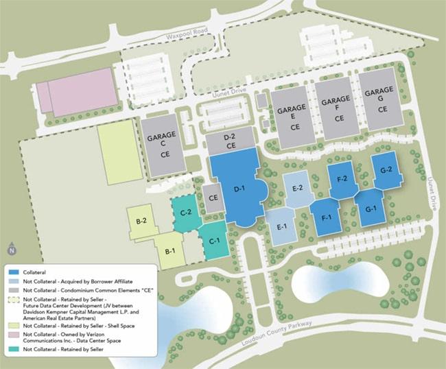 Quantum Park Ashburn Virginia Site Map